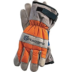 Husqvarna 505642210 Chain Saw Protective Gloves, Large (Discontinued by Manufacturer)
