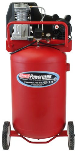 Buy Coleman Powermate Premium Plus Series, Oil Lubricated Belt Drive, 40 gallon Air Compressor