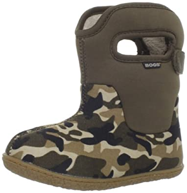 Bogs Baby Boot Waterproof Boot (Toddler),Olive Camo,5 M US Toddler
