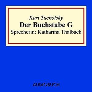 Der Buchstabe G Hörbuch