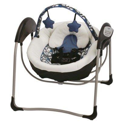 Graco Petite Lx Baby Glider Necco front-949947