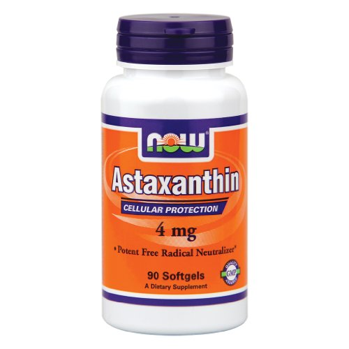 Now Foods - Astaxanthin Cellular Protection 4 Mg. - 90 Softgels ( Multi-Pack)