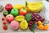 どっさり フルーツ 果物 模型 食品サンプル 15種類セット ディスプレイなどに (Bセット)