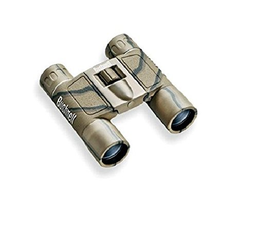 Bushnell Powerview 10X25 Compact Folding Roof Prism Binocular (Camouflage)