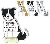 アニマルダイカットカレンダー【ボーダーコリー】<2015年1月から2015年12月対応> C-723