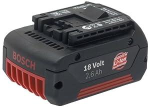 BOSCH(ボッシュ) 18V2.6Ahリチウムイオンバッテリー[1600Z0002D]