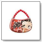 Vandor LLC 12092 Betty Boop Purse Decoupage Ornament, 4 by 1.25 by 4.25-Inch, Multicolored