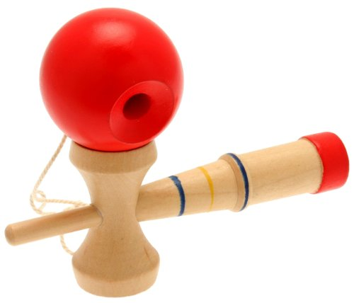 Red Ball Toy : Kendama japanese game with red ball toys games