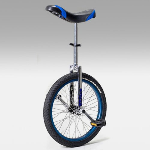 Nimbus II 20 Inch Freestyle Unicycle with ISIS Hub - Blue