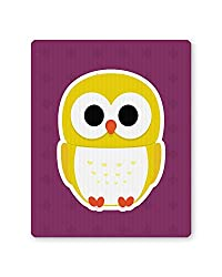 PosterGuy Cute Quirky Owl Minimalist Illustration Mouse Pad