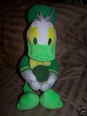"Disney RARE Lime Donald Duck 16"""