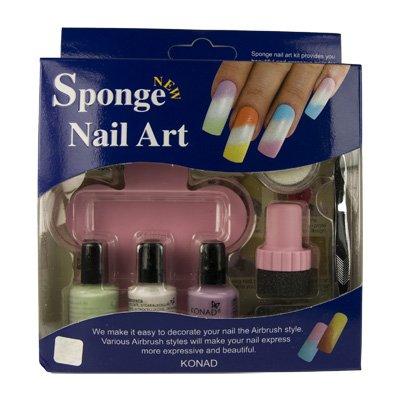 Konad Sponge Nail Art Kit - 01 [Misc.]