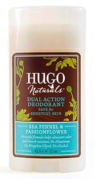 Hugo Naturals – Hugo Naturals Sea Fennel & Passionflower Deodorant, 1.5 oz solid