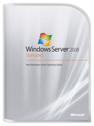 Win Svr Std 2008 32bit/X64 DVD 5 Clt