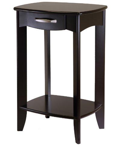 Danica Side Table - Espresso Wood (Dark Espresso) (30