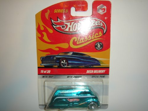 2009 Hot Wheels Classics Series 5 Deco Delivery Aqua #4 of 4 - 1