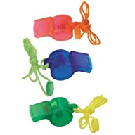 Whistle Party Favors, 4ct