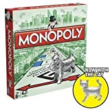 Monopoly Traditional Board Game with The New Cat Token