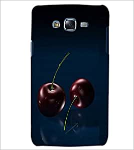 PrintDhaba Cherries D-1061 Back Case Cover for SAMSUNG GALAXY J5 (Multi-Coloured)