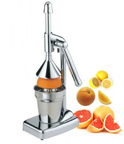 Royal Manufacturers Stainless Steel Manual Lever Press Citrus Juicer (Press Juice compare prices)