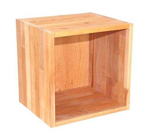 Regalwrfel-Flexicube-Grundmodul-Buche-gelt-Regalwrfel-aus-Massivholz-erweiterbar-zum-Regal-Raumteiler-Bcherregal