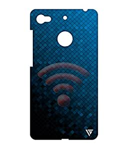 Vogueshell Wifi Sign Printed Symmetry PRO Series Hard Back Case for LeEco Le 1s