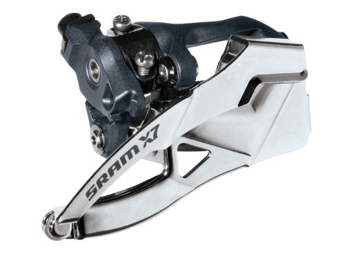 Sram X.7 2X10 Low-Clamp 31.8/34.9 Dual Pull 38/36T Front Derailleur