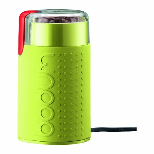 Bodum Bistro Electric Blade Coffee Grinder, Green