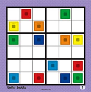 Picture of ERC Quality Unifix Sudoku Additional 24-Set By Didax (B004Y827A0) (Sudoku Puzzles)