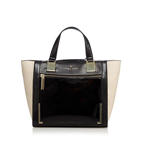 j-by-jasper-conran-womens-black-front-panel-small-shopper-bag