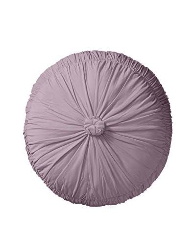 lazybones Round Pillow, Lavender