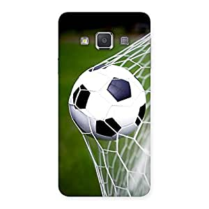 Delighted Goal Green Back Case Cover for Galaxy A3