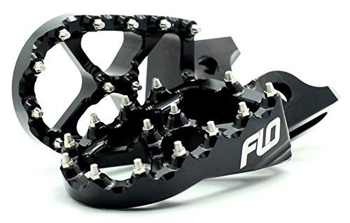 Flo Motorsports Black Suzuki RMZ 250/450 Foot Pegs Fpeg-796blk (Rmz 450 Motor compare prices)
