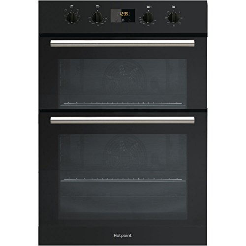 Hotpoint DD2540BL Built-In Double Oven Electric Fan A Energy Black