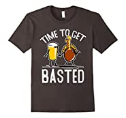Time To Get Basted Funny Thanksgiving T Shirt