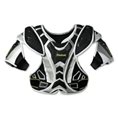 Reebok 10K Shoulder Pad (Black Silver Lime) by Reebok