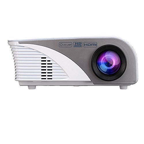 Projector-Warranty-IncludedXinda-LCD-1200-Lumens-Mini-Multi-media-Portable-Video-Projector-Game-Home-Cinema-Theater-Movie-Projector-White-001BW