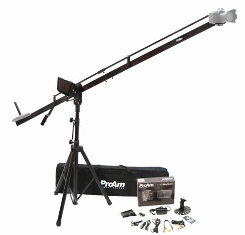 Turn-key ProAm USA 8 ft to 12 ft DVC200 Camera Crane Production Package