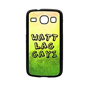 Vibhar printed case back cover for Samsung Galaxy Core Watt