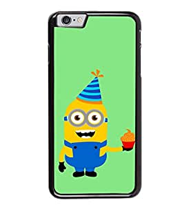 printtech Minions Birthday Back Case Cover for Apple iPhone 6