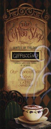 Posterpalooza Coffee Shop Menu By Lisa Audit