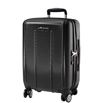 eBags EXO 2.0 Hardside Spinner Carry-On (Black)