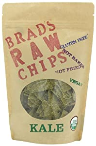 Brad's Raw Chips, Kale, 3 Ounce