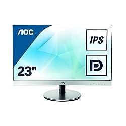 AOC I2369VM 23 inch IPS LED Monitor (50000000:1, 250 cd/m2, 6ms, HDMI)