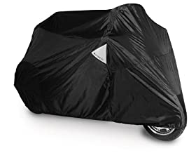 Dowco 50084-00 Guardian WeatherAll Plus Black Motorcycle Cover for Trikes