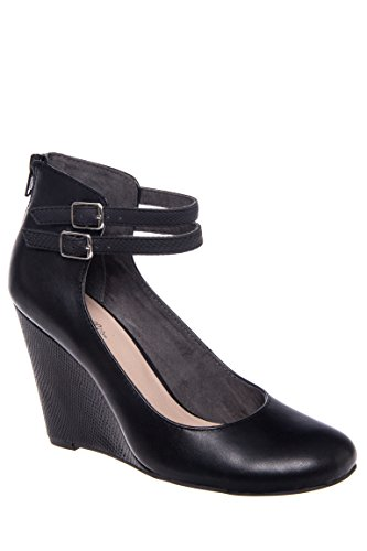 Heres To You Ankle Strap Wedge