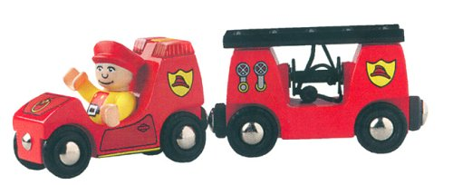 BRIO 33542 Light and Sound Fire Engine