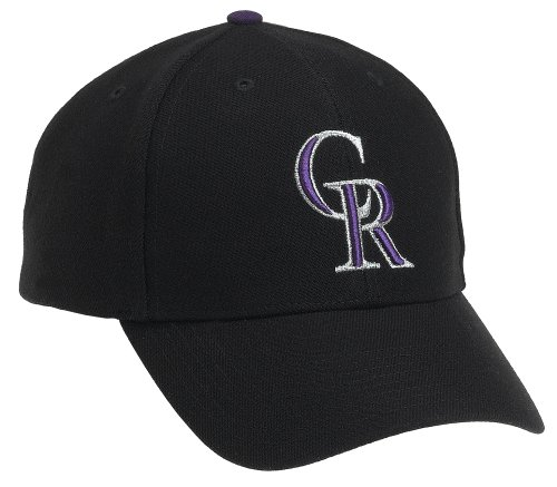 Colorado Rockies MVP Adjustable Cap,Black at Amazon.com
