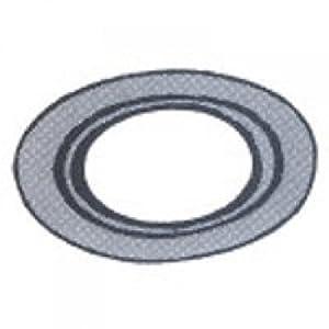 "Gray Metal 6-gold Stove Pipe Collar, 6"""