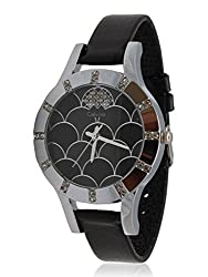 Calvino Womens Black Dial Watch CLBSDM-F21_blk blk